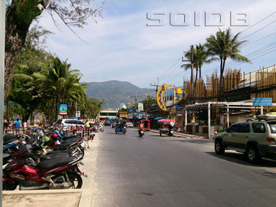 A photo of Thaweewong Road
