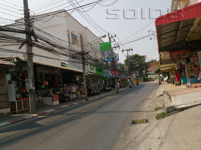 A photo of Karon Road