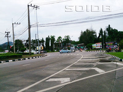 A photo of Saphanhin Intersection