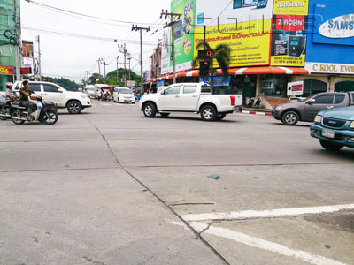 A photo of Pattana Intersection