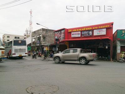 A photo of Srisutas-Amphur Intersection