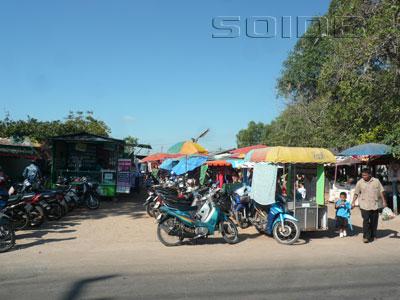 市場 - サムットコンカ通りの写真