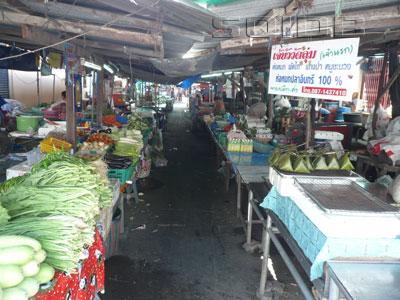 ワット・ルン市場の写真