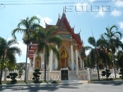 A photo of Wat Lum Mahachai Chumphon