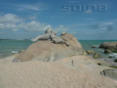 A photo of Nam Rin Beach