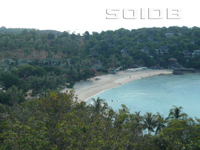 A photo of Samrong Beach