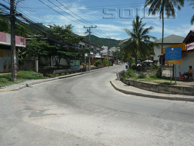 A photo of Chaweng Beach Road