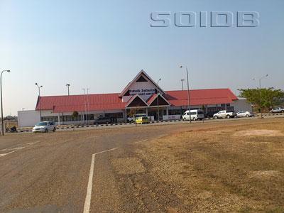 サワンナケート空港の写真
