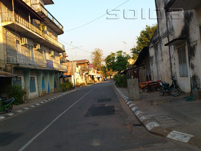 A photo of Pheunchit Road