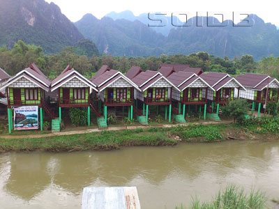 A photo of River View Bungalows