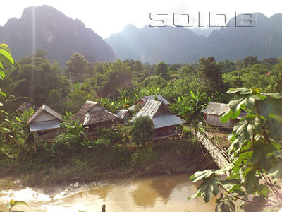 A photo of Champa Lao Bungalows