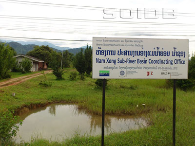 A photo of Nam Xong Sub-River Basin Coordinating Office