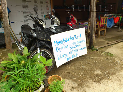 A photo of Motorbike for Rental near Kham Phone Guesthouse