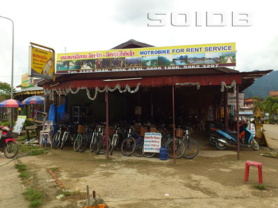 A photo of Mortorbike for Rent Service