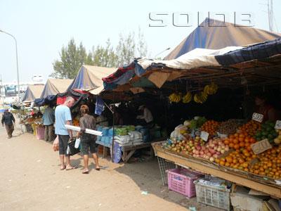 クアディン市場の写真