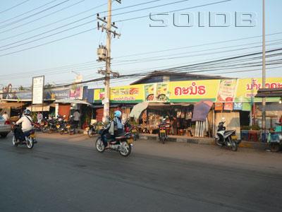 A photo of Thongphanthong Market