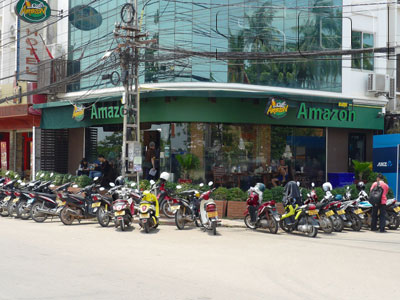 A photo of Cafe Amazon - Rue Chao Anou