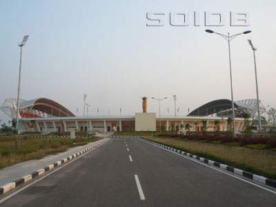 A photo of National Stadium Sports Complex Main Stadium