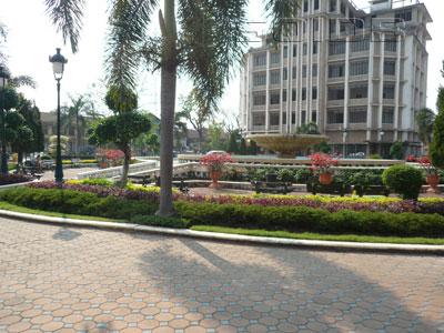 A photo of Namphou Square