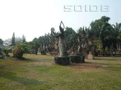 A photo of Buddha Park
