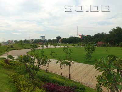 A photo of Chao Anouvong Park