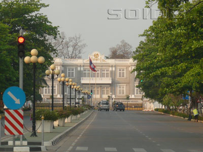 大統領官邸の写真