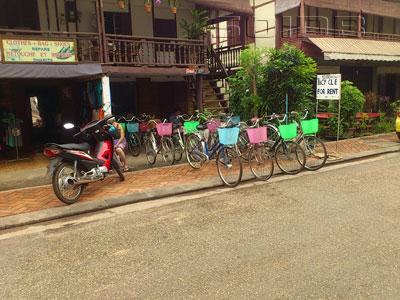 ภาพของ Bicycle Rent - Rue Nokeokoummane